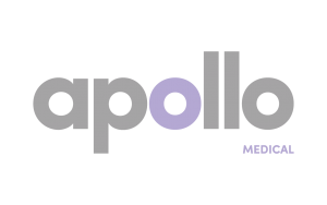 Apollo logo medical building contractors