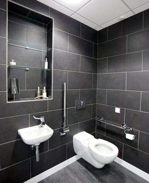 Disabled WC, Charles Landau dental practice refurbishment