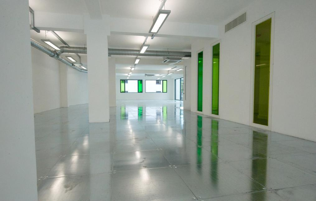 Great Eastern Street basement office fit out