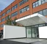 Side entrance to Hemel office interior design