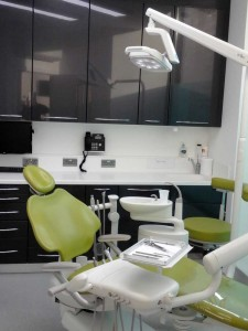 Modern dental surgery interior