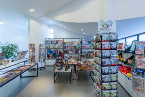 museum of brands gift shop retail fit out