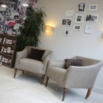 Stylish office fit out Chelsea Square seating