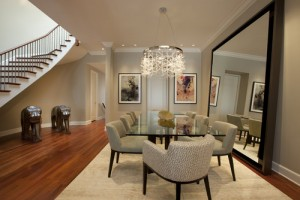 decorating your home on a budget ideas using mirrors to create space