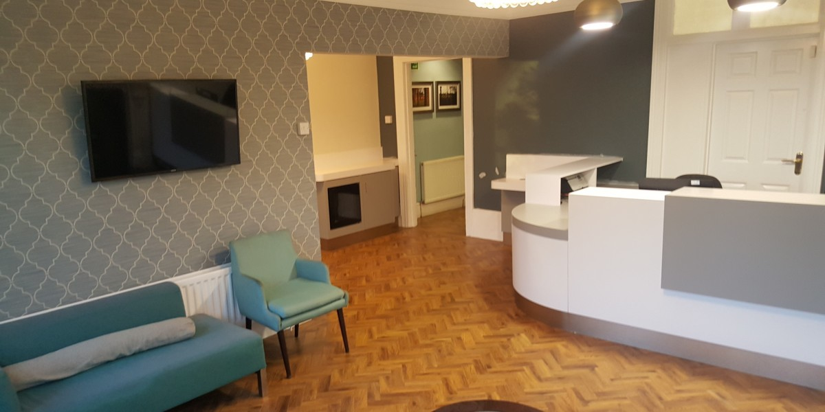 The Dental Centre, Tulse Hill, reception
