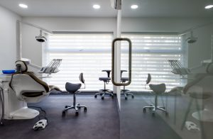 View inside surgery at Dentaltree dental practice Finchley Road, London