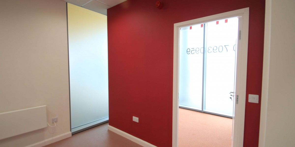 Chrisp Street Dental Red Wall inside surgery
