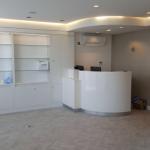 Glasshouse aesthetic clinic reception