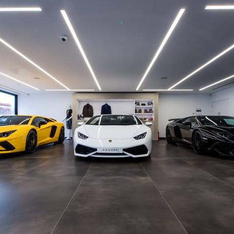 Lamborghini Showroom, South Kensington