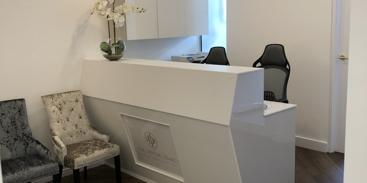 Reception at The Dental Team, South Kensington