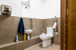 WC at at JBR Capital, Finchley Road, London