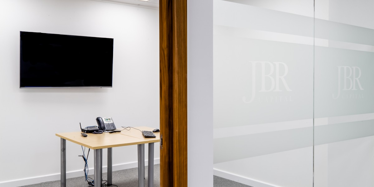 Work station at JBR Capital, Finchley Road, London