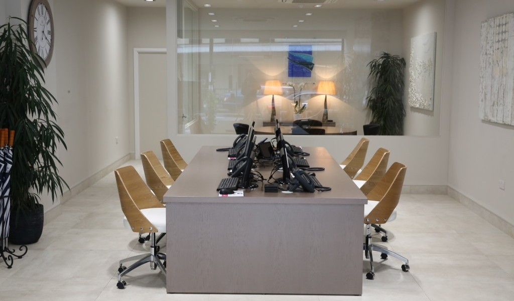 Chelsea Square office interior