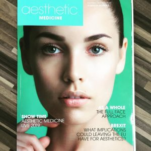 Aesthetic Medicine March 2018 cover
