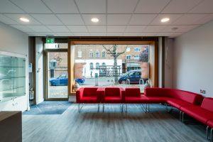 Dulwich Orthodontics clinic reception