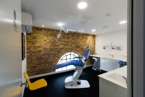 Inside surgery at Orthodontic Care, Brentford