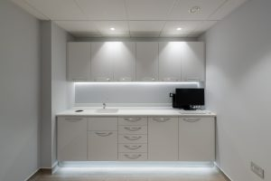 Cabinetry at The Cosmetic Dental Gallery