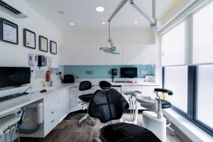 Stylish dental clinic interior