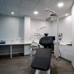 Dental treatment room at Angle House dental clinic