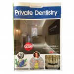 Cover of April 2021 Private Dentistry Magazine