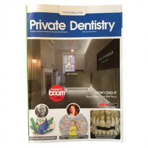 Cover of April 2021 Private Dentistry Magazine