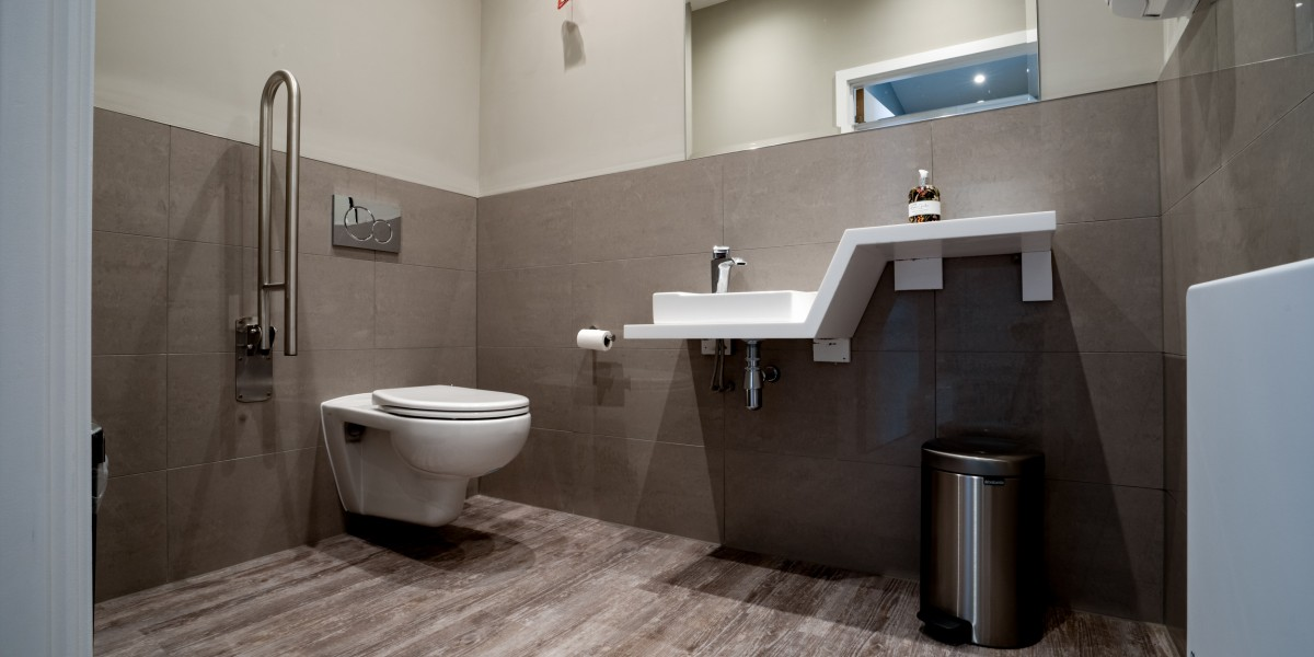 Disabled WC at Angle House clinic