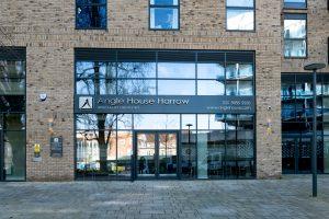 Exterior of Angle House dental clinic, Harrow
