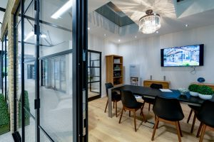 Room set in HBD Systems showroom