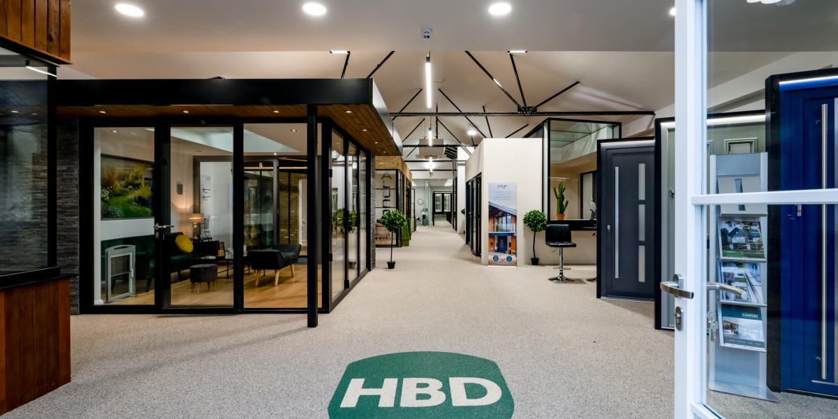 Inside the HBD Systems showroom