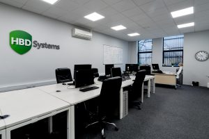 Internal view of office at HBD Systems