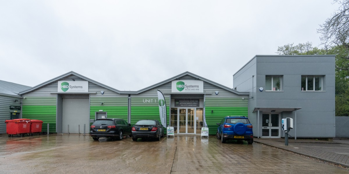Exterior view of HBD Systems showroom