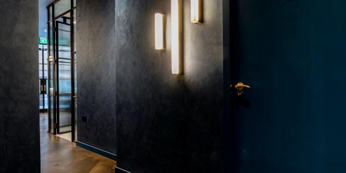Dark and stylish corridor