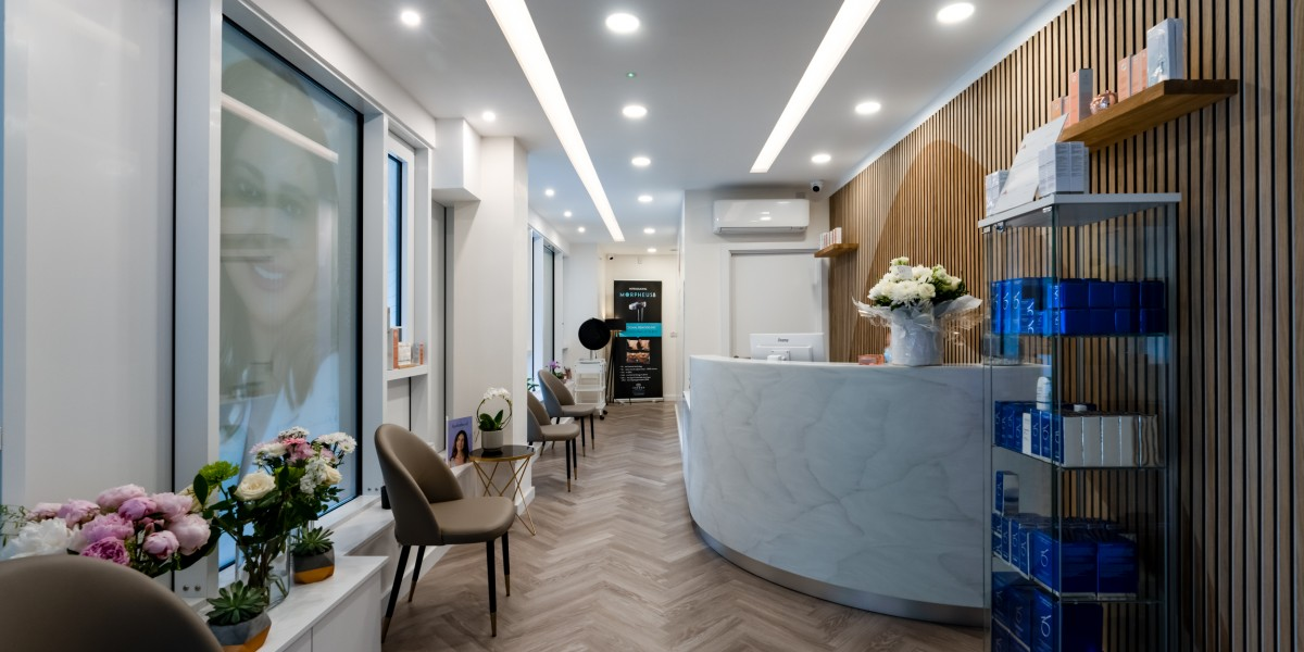 Reception area in Ambra Aesthetic Clinic, North Finchley