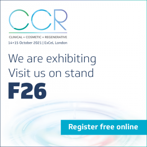 CCR London. We are exhibiting on stand F26